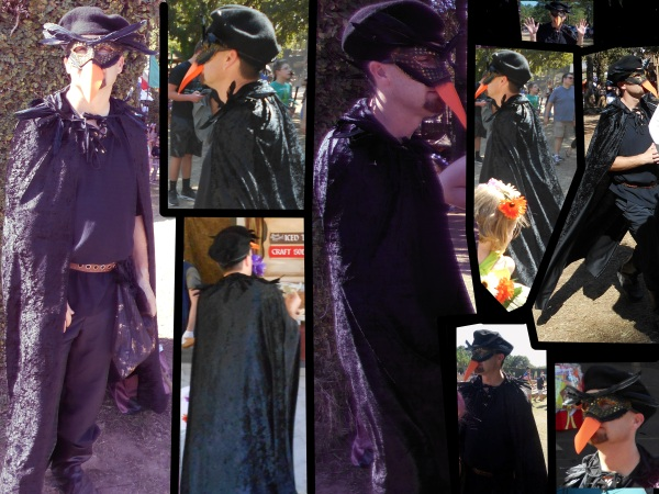 Raven (on Ryan). Costume design, construction, and most of the photography by E.G.D. The picture second from the right by Alaina Diehl.